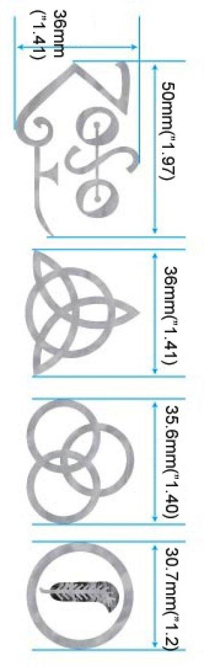 画像2: レッド・ツェッペリン 4 シンボル