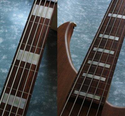 画像3: ジャズ・ベース・ブロック(ホワイトパール) 5弦ベース用