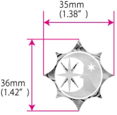 画像3: 太陽、月、星 シンボル