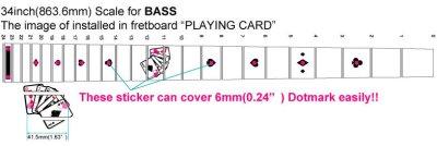 画像4: ベース用-プレイングカード(トランプ)/BLACKパール