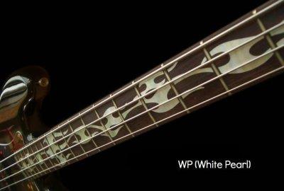 画像3: ベース用-ファイアー・フレイム (ホワイトパール)
