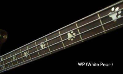 画像2: ベース用-猫足 / ホワイトパール