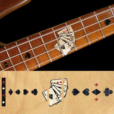 画像1: ベース用-プレイングカード(トランプ)/BLACKパール